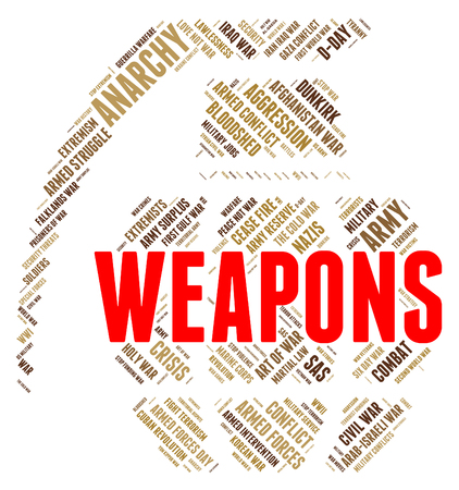 weaponry: Weapons Word Meaning Armaments Weaponry And Munition