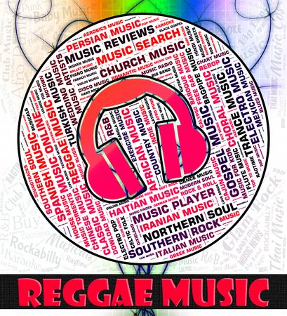 soundtrack: Reggae Music Showing Sound Tracks And Soundtrack