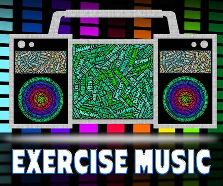 soundtrack: Exercise Music Meaning Work Out And Track