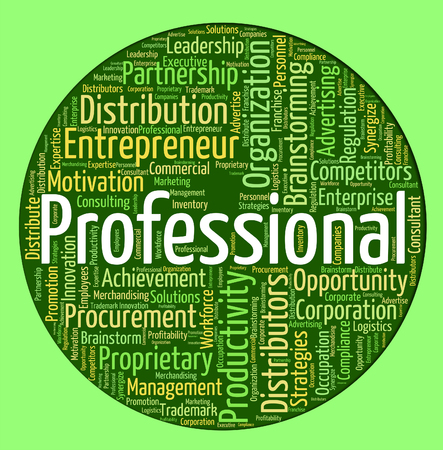 educated: Professional Word Representing Text Wordclouds And Educated