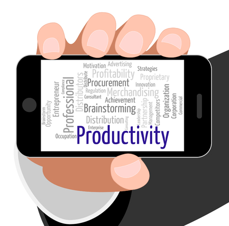 effectiveness: Productivity Word Showing Effectiveness Effective And Words