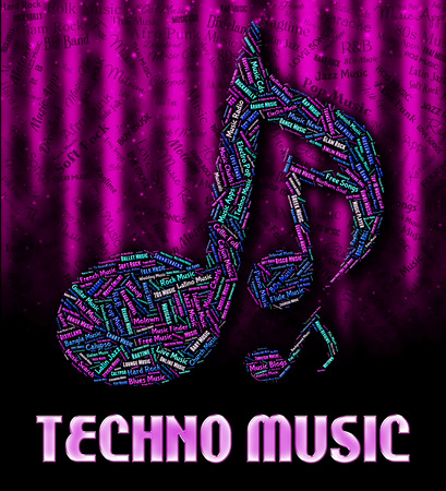 funk music: Techno Music Meaning Sound Track And Electric