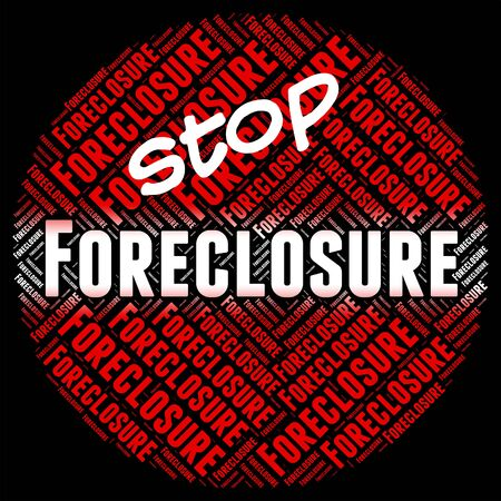 foreclosed: Stop Foreclosure Showing Stopped Control And Borrower
