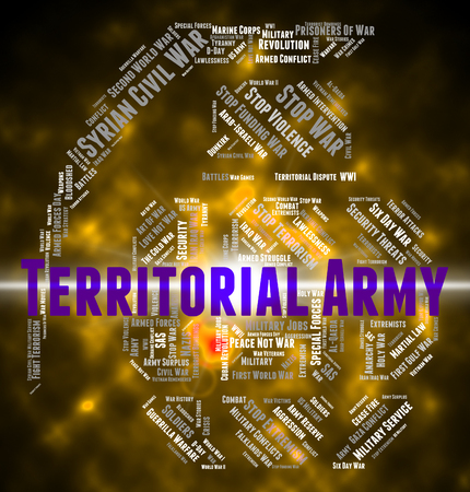 territorial: Territorial Army Meaning Military Action And Armament