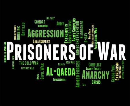 inmates: Prisoners Of War Indicating Military Action And Clashes