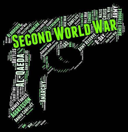 seconda guerra mondiale: Seconda Guerra Mondiale Rappresentare Word alleati e conflitti