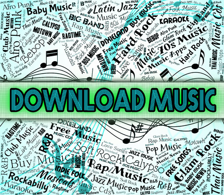 downloaded: Download Music Showing Sound Tracks And Application