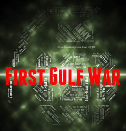 clashes: First Gulf War Indicating Operation Desert Shield And Operation Desert Storm