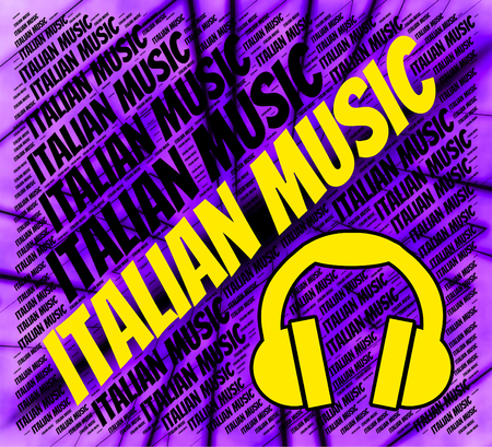 soundtrack: Italian Music Showing Sound Tracks And Soundtrack