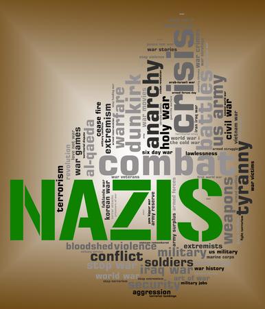 lejos: Nazis palabra que significa extrema derecha y Wordcloud