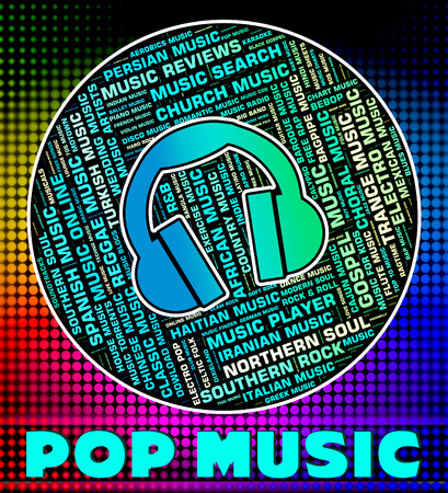 pop music: Pop Music Representing Sound Track And Songs