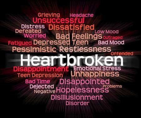 crestfallen: Afligido Palabra Significado desconsolada y palabras