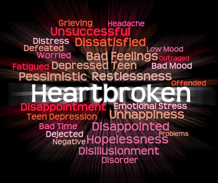 heartbroken: Heartbroken Word Meaning Grief Stricken And Words
