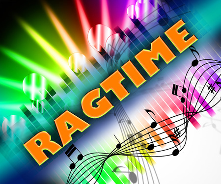 ragged: Ragtime Music Indicating Sound Tracks And Ragged