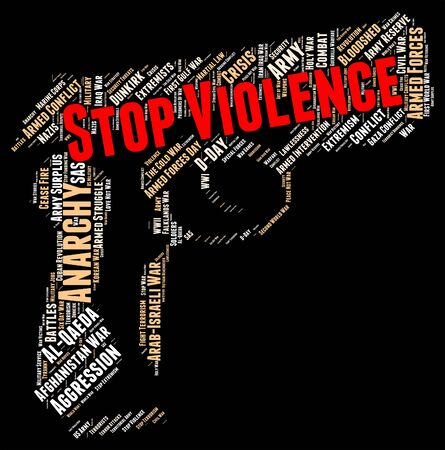 savagery: Stop Violence Showing Brute Violent And Brutishness