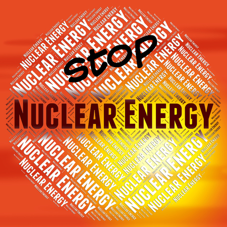 nucular: Stop Nuclear Energy Showing Power Source And Fusion