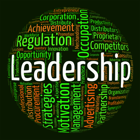 authority: Leadership Word Meaning Led Text And Initiative