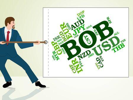 bob: Bob Currency Indicating Bolivia Bolivianos And Currencies