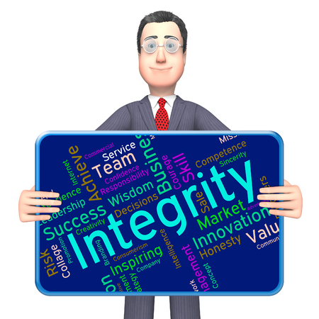 Integrity Words Indicating Morality Truthfulness And Sincerity