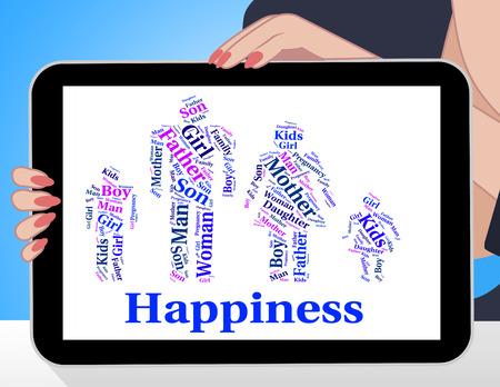 the offspring: En representaci�n de la felicidad familiar relativa Blood And Offspring