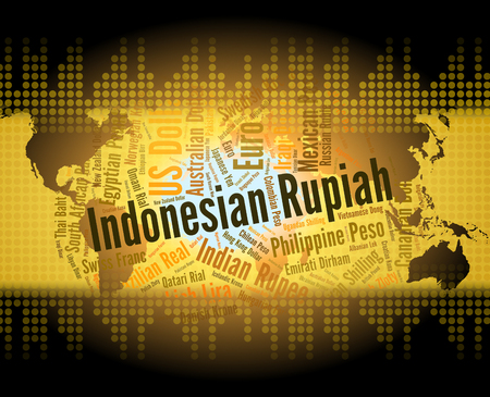 foreign exchange: Indonesian Rupiah Indicating Foreign Exchange And Idr