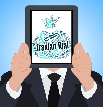 coinage: Iranian Rial Indicating Forex Trading And Coinage