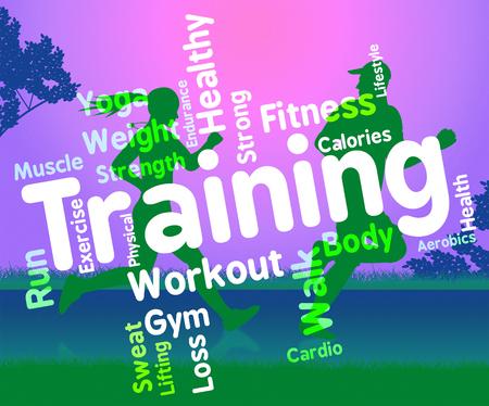 actividad fisica: Palabras de formaci�n que indican la actividad f�sica y la aptitud