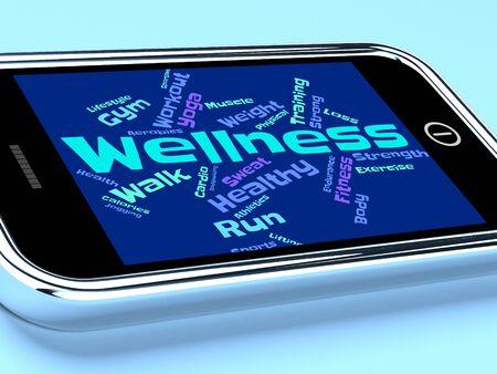 preventive medicine: Wellness Words Representing Preventive Medicine And Medical Stock Photo