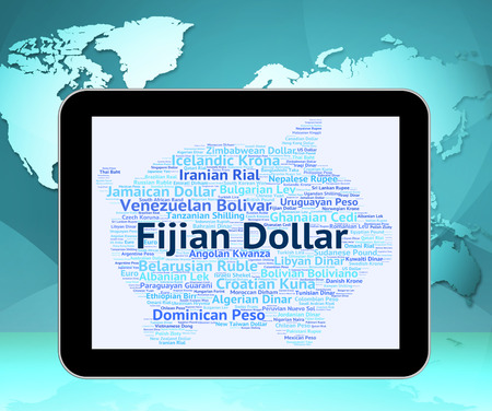 fijian: Fijian Dollar Representing Foreign Exchange And Banknotes