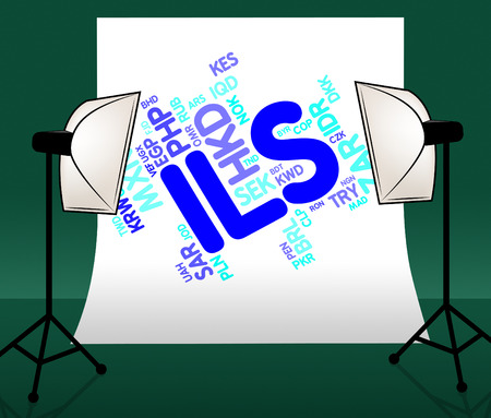 fx: Ils Currency Representing Forex Trading And Fx