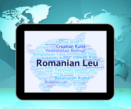broker: Romanian Leu Indicating Exchange Rate And Broker