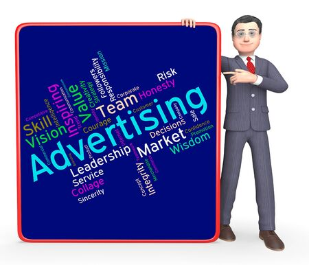 wordcloud: Wordcloud Advertising Meaning Market Advertise And Advertisement