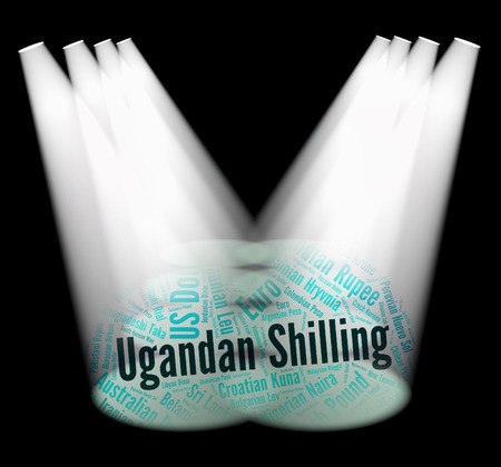 foreign currency: Ugandan Shilling Representing Foreign Currency And Fx