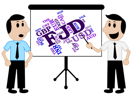 fijian: Fjd Currency Meaning Forex Trading And Wordcloud