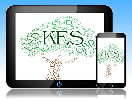 coinage: Kes Currency Meaning Foreign Exchange And Coinage Stock Photo