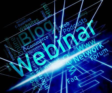 webinar: Wordcloud Webinar Meaning Seminar Instruction And Skills