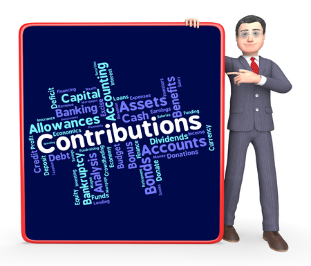 contributes: Contributions Word Showing Wordcloud Donate And Volunteers