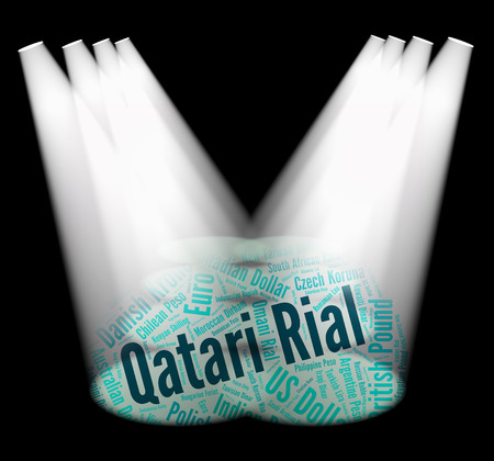 forex trading: Qatari Rial Showing Forex Trading And Fx