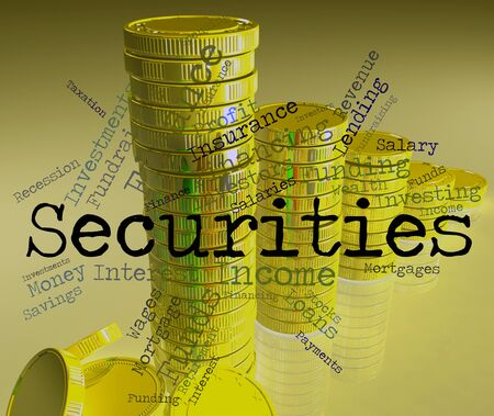 indebt: Securities Word Meaning In Debt And Surety