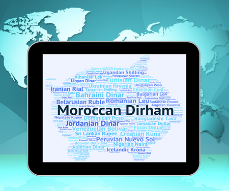 dirham: Moroccan Dirham Meaning Morocco Dirhams And Coinage