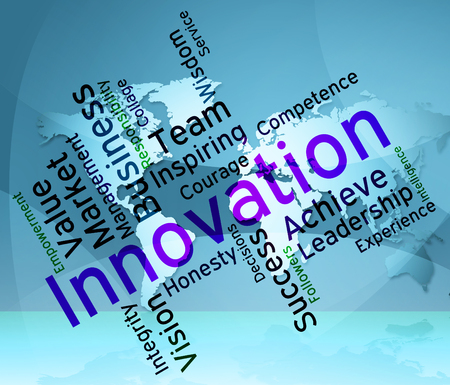 invention: Innovation Words Meaning Creative Invention And Conception