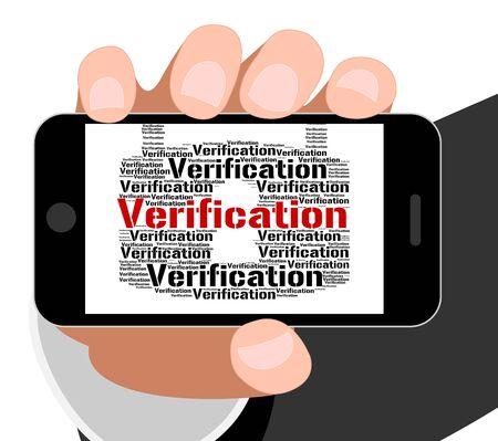 verifying: Verification Lock Indicating Authenticity Guaranteed And Warranty