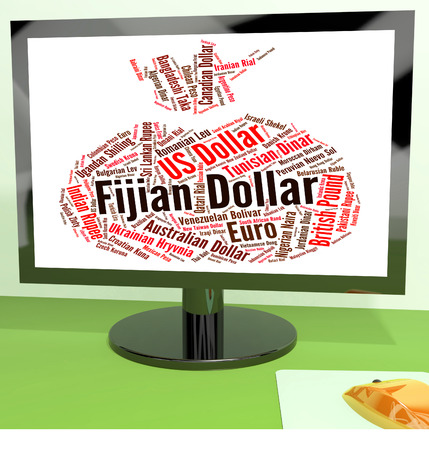 foreign exchange: Fijian Dollar Meaning Foreign Exchange And Wordcloud