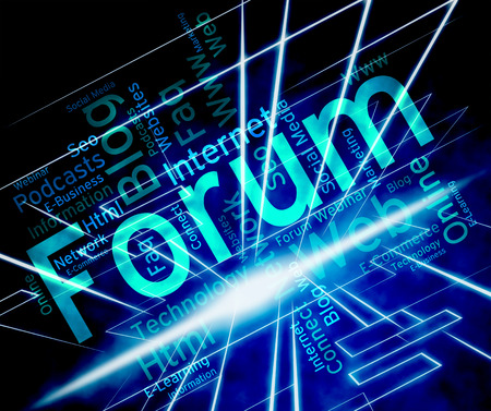 discussion forum: Forum Word Meaning Network Community And Discussion