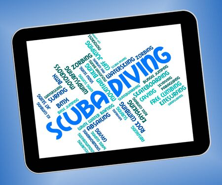 scubadiving: Scuba Diving Meaning Subaqua Word And Diver