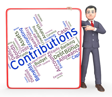 Contributions Word Meaning Volunteer Support And Contributors