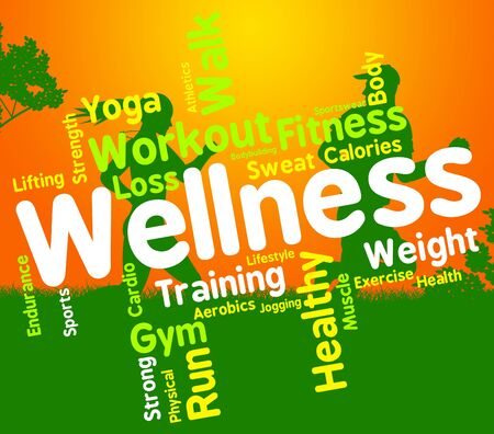 preventive medicine: Wellness Words Showing Preventive Medicine And Health