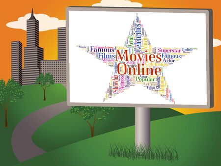 motion picture: Movies Online Showing World Wide Web And Motion Picture