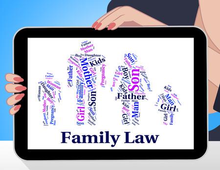jurisprudencia: Derecho de Familia que muestra la relaci�n de la sangre y la jurisprudencia