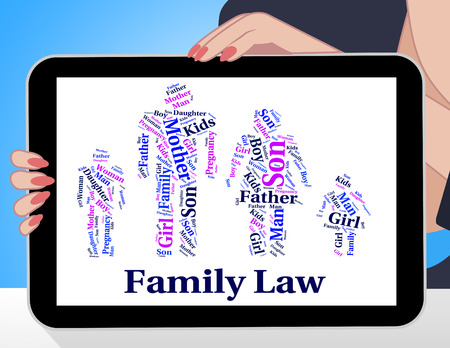 lawfulness: Family Law Showing Blood Relation And Jurisprudence
